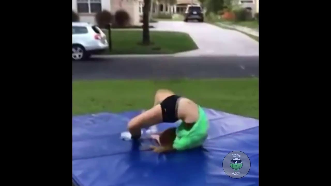 maxresdefault girl backflip fail breaks neck remix youtube