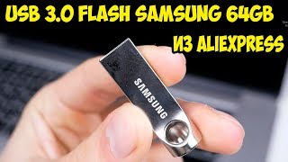 Обзор и тест USB Flash Samsung 64GB USB 3 0 в металле из Aliexpress