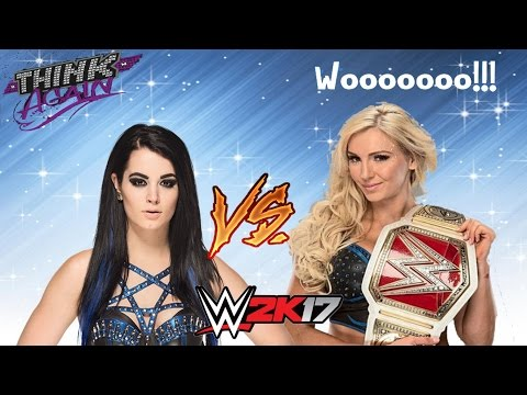 WWE 2K17 - DO IT WITH FLAIR!! | Charlotte Vs Paige
