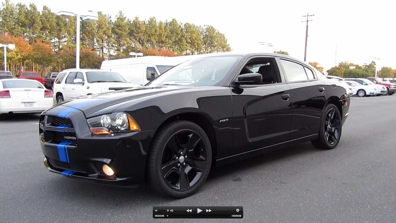 2011 Dodge Charger Rt Mopar Design Limited Edition Start