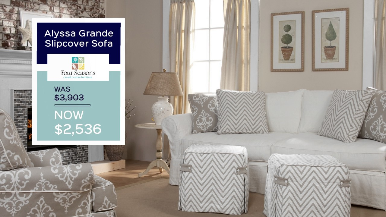 Doerr Furniture Sectionals, Sleepers, And Slipcover Sale 2017