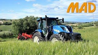 New Holland T6.155 Dynamic Command | coltivatore Kongskilde Vibro Flex