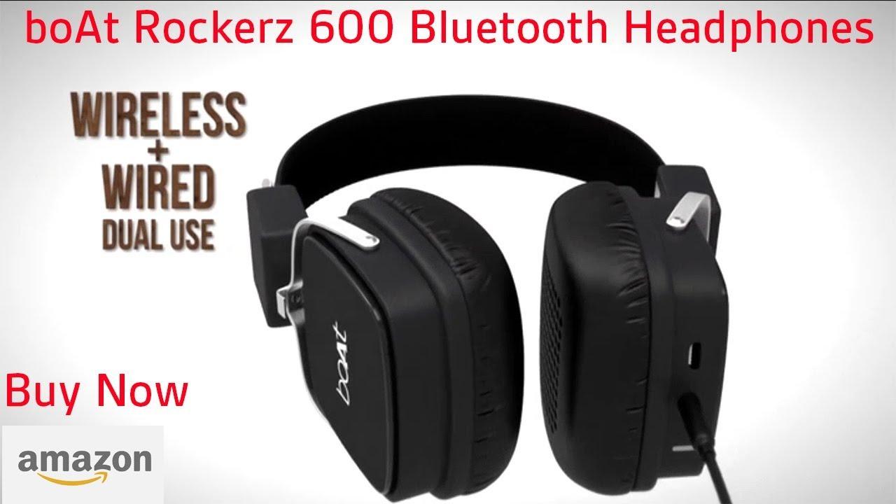 5705cdb1fdf boAt Rockerz 600 Bluetooth Headphones | Price and Specifications ...
