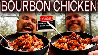 HOW TO MAKE TΗE BEST BOURBON CHICKEN ON THE BLACKSTONE GRIDDLE! EASY RECIPE