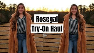 Rosegal Outerwear Try On and Review