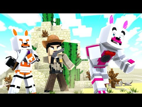 Funtime Foxy Is Framed In Murder Mystery (Minecraft Fnaf Roleplay Adventure)
