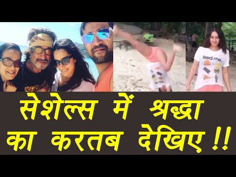Shraddha Kapoor performs CARTWHEEL on a beach; Watch video | FilmiBeat