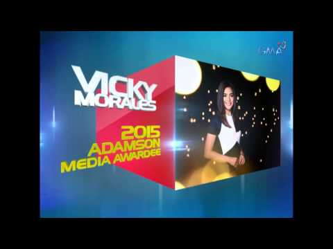 Congratulations, Kapuso Vicky Morales!