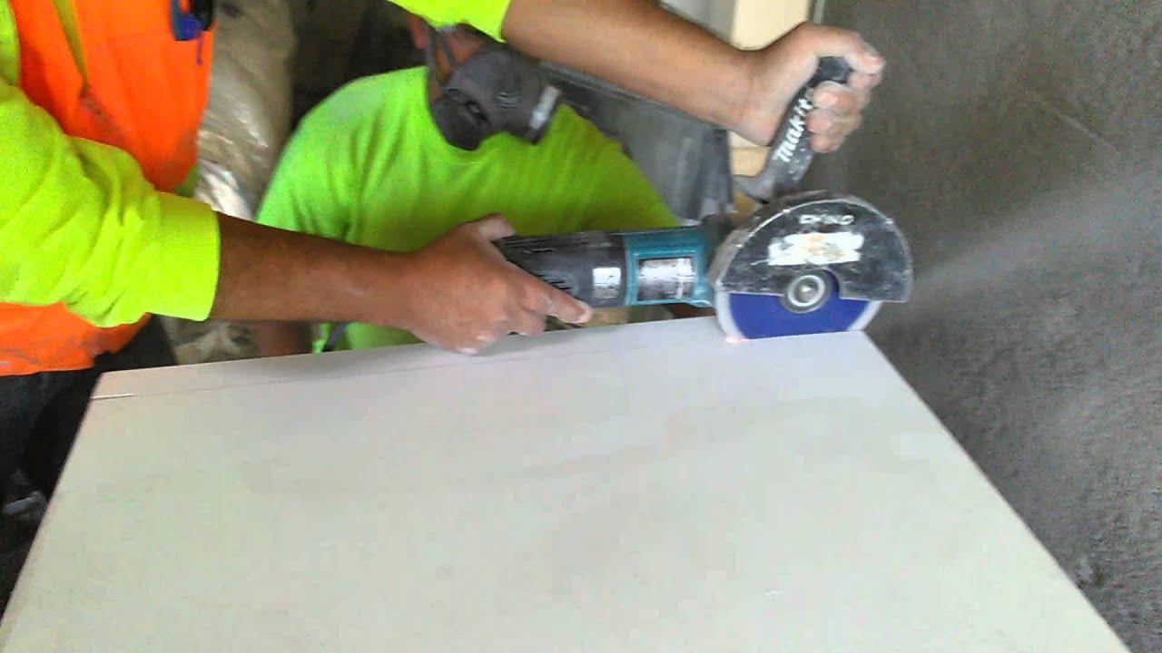 Cutting Quartz With New Blade You