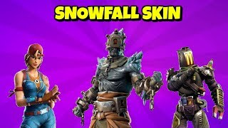 NEW SNOWFALL SKIN - V7.30 SKINS à Fortnite