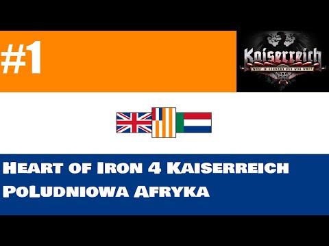 Hearts of Iron 4 Kaiserreich // Południowa Afryka #1