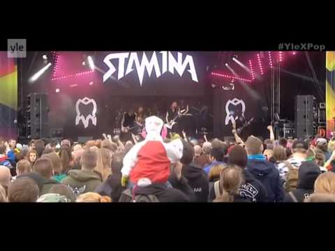 Stam1na - Live @ YleXPop 2014, Oulu