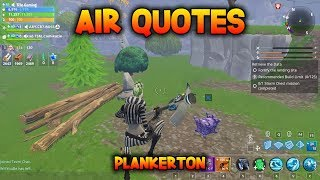 AIR QUOTES - Complete a Storm Chest Mission - Fortnite Save the World