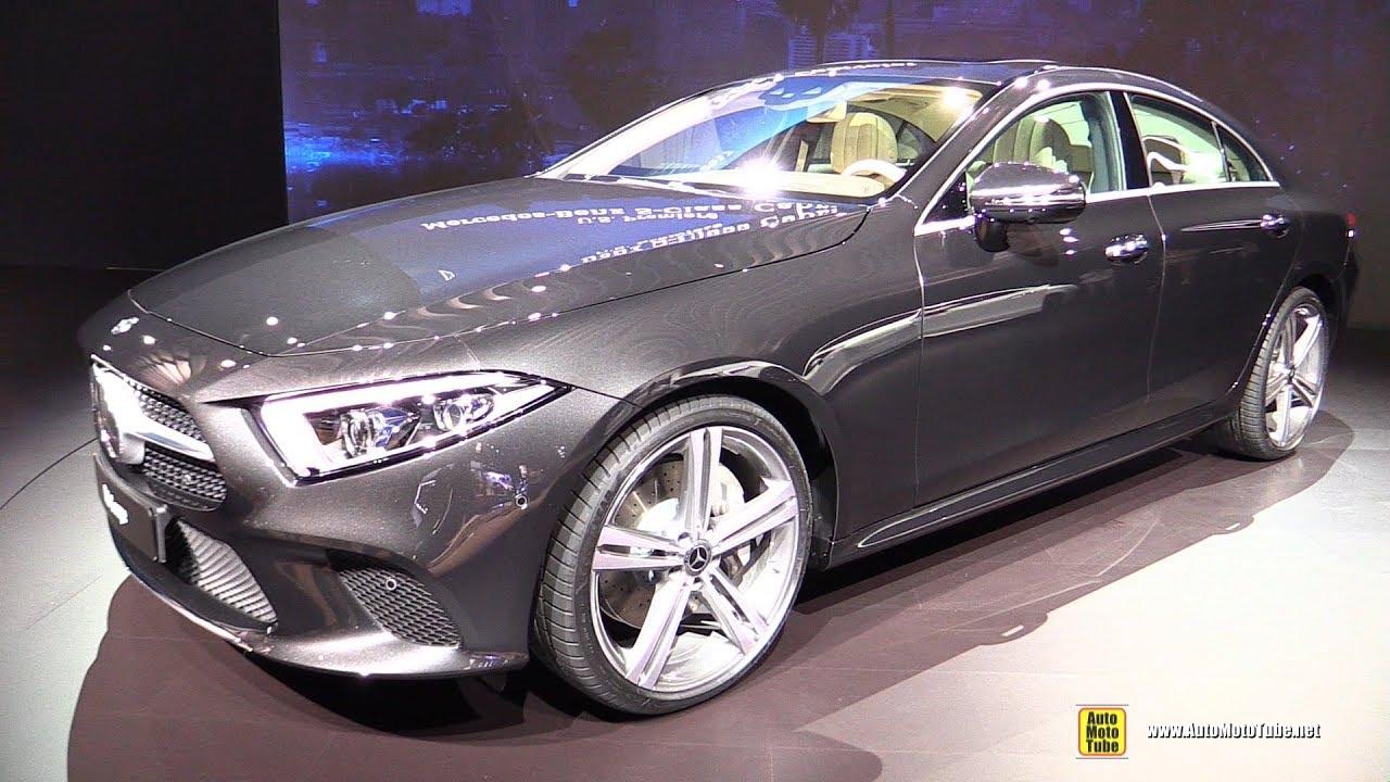 2019 Mercedes Cls Coupe Exterior And Interior Walkaround 2017 La Auto Show