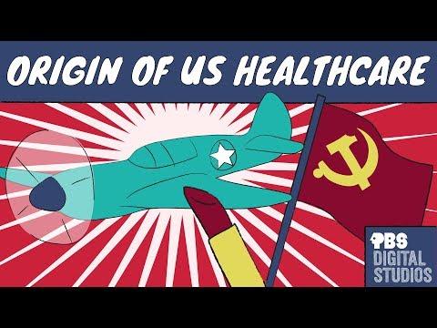How did Makeup, WWII & Communism Create U.S. Healthcare?