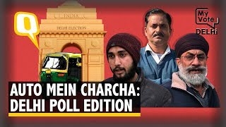 Delhi Election 2020: Who Will Delhi's Auto Drivers Pick Up This Election?