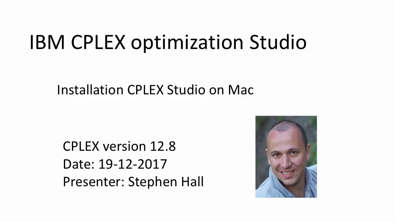 IBM ILOG CPLEX Optimization Studio Android Setup (via AWS Cloud)