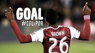 GOAL: Deshorn Brown follows up on the penalty save | Colorado Rapids vs. Portland Timbers