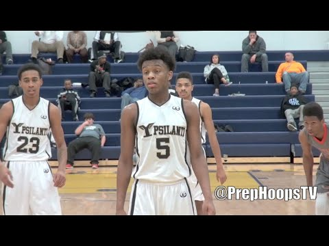 Corey Allen 2016 Ypsilanti High Grizzlies season highlights