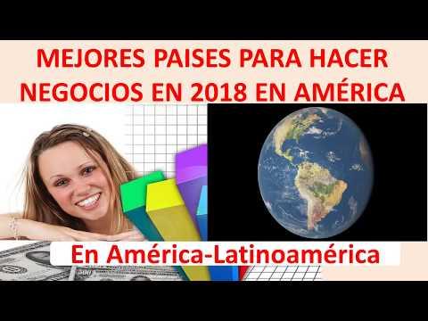 Mejores países para hacer negocios 2018 América y Latinoamérica. Doing Business 2018 Banco Mundial