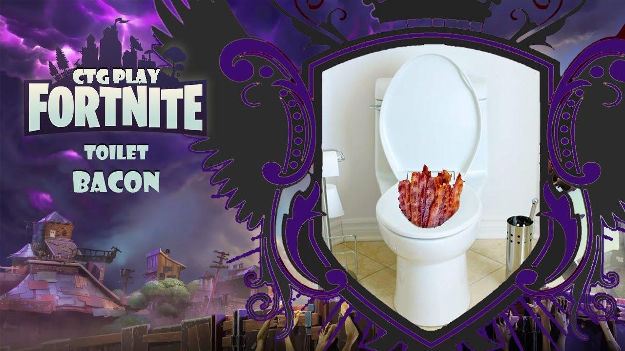 ctg plays fortnite toilet bacon - fortnite bacon