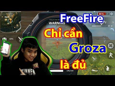 FreeFire - Sự Hủy Diệt Của Groza
