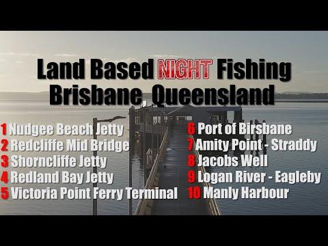 10 BRISBANE LAND BASED NIGHT FISHING HOTSPOTS