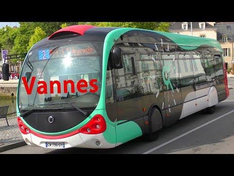 Neue IVECO Busse In Vannes - Les Bus De L'agglo Kicéo - New Buses - Bretagne Brittany 4K
