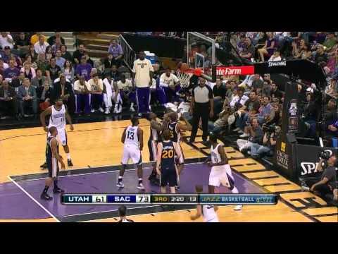 Tyreke Evans complete highlights 24 pts 10 assists vs Utah Jazz 04/03 hd