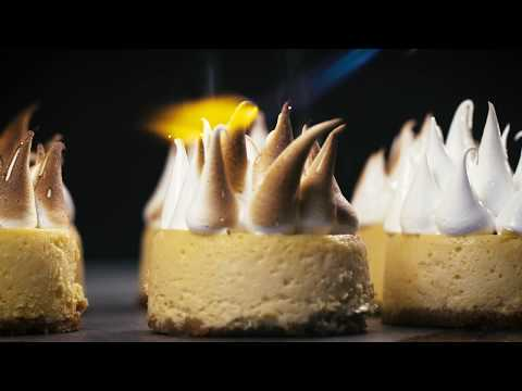 Sweet by Ottolenghi & Helen Goh: Lime Meringue Cheescakes
