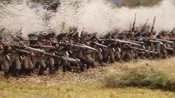 Gigantisches Diorama: Napoleon-Schlacht mit 8000 Zinnsoldaten