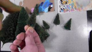 Using Christmas Decorations for Wargame Terrain