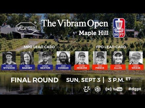 Vibram Open Round 4 Live Broadcast