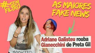 QUAL FOI A MAIOR MENTIRA QUE JÁ CONTARAM SOBRE MIM | Adriane Galisteu