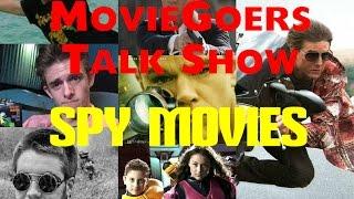 MovieGoers Podcast #9- Spy Movies/Biddle Returns