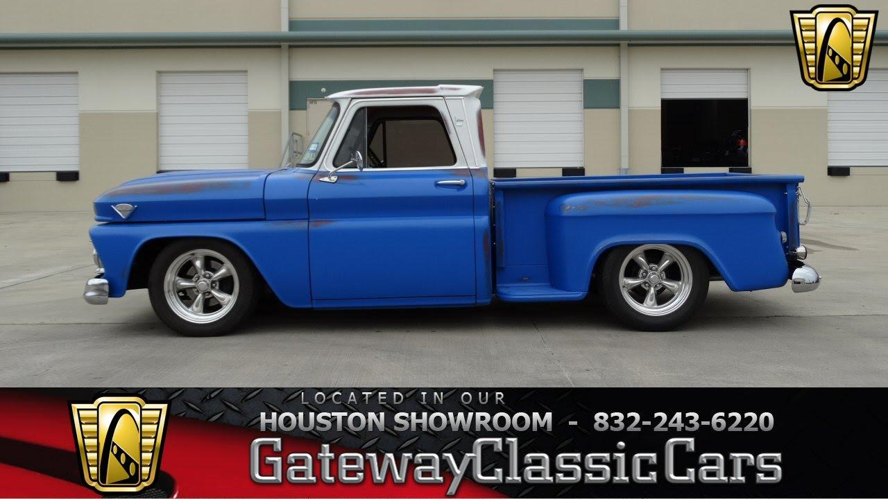 1966 GMC C10 - #265 - Gateway Classic Cars of Houston - YouTube