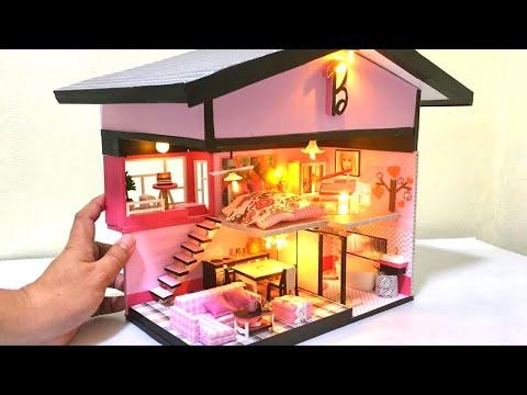DIY Miniature Barbie Malibu Dreamhouse Dollhouse