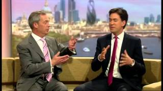 When Nigel Farage met Ed Miliband, on the Marr couch