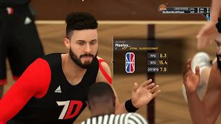 Throwdown vs Peerless Proficiency NBA 2k19 Comp Games Highly Respect Pro Am Brands Battle