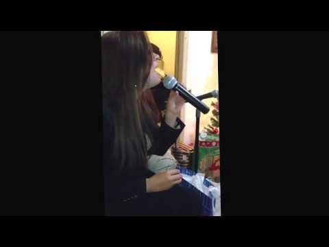 Karina Catalan- Tanto Amor - karaoke en casita Mexicali agustoooooo -Navidad 2013-14