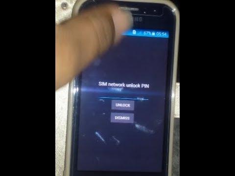 samsung j111f sim network unlock pin