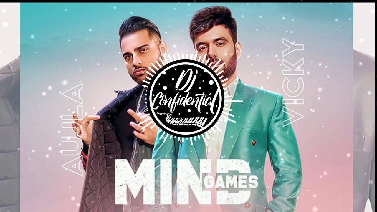 Mind Games ( REMIX ) Vicky   Ft . Karan Aujla   Proof   Dj Confidential   Punjabi   Songs 2020
