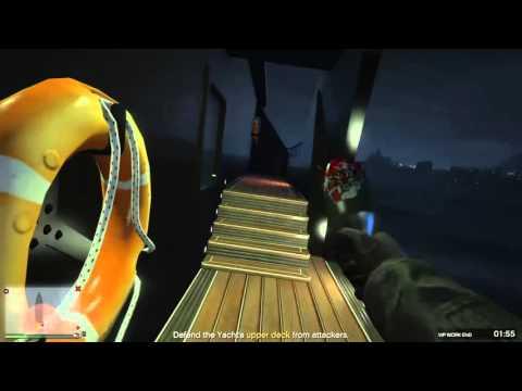GTA V Online: Yacht Squad