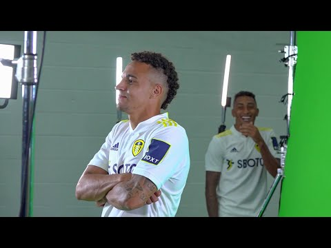 BEHIND THE SCENES ON MEDIA DAY   Raphinha and Rodrigo fun, outtakes, goal gifs and TV promos!