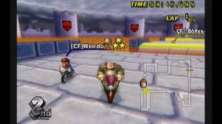 Mario Kart Wii: GBA Bowser Castle 3 World Record Shortcut W/Epic Pow Jump