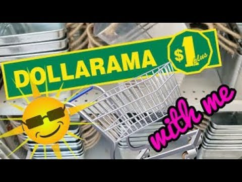 LONG DOLLARAMA Shop With Me | APRIL 2018 | ONE OF MY FAVOURITE STORES |