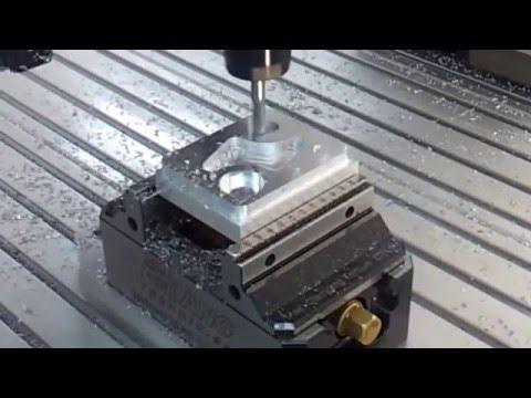 CNC Router on Aluminum _ ماكينة سي ان سي لحفر الالمنيوم thumbnail