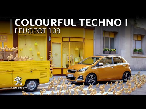 Thumbnail: Peugeot 108 x Mika | Colorful Technology