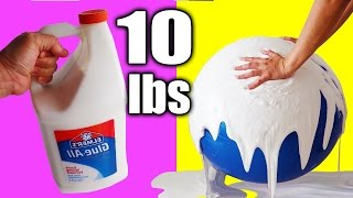 1 GALLON of SLIME CHALLENGE! 10 lbs SLIME! How To Make Slime without Borax by Bum Bum Surprise Toys