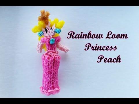 Rainbow Loom Princess Peach Tutorial